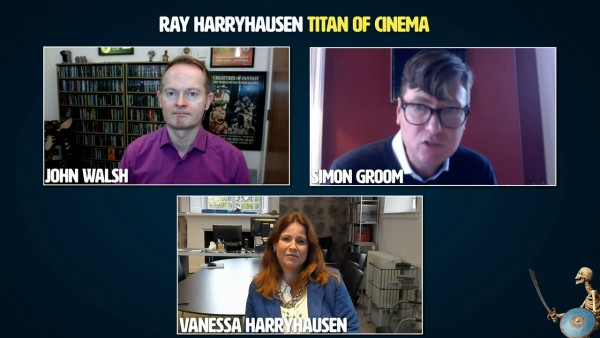 Ray Harryhausen: Titan of Cinema – Virtual Junket screengrab