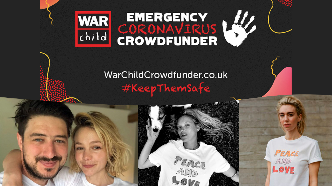 War Child photo montage
